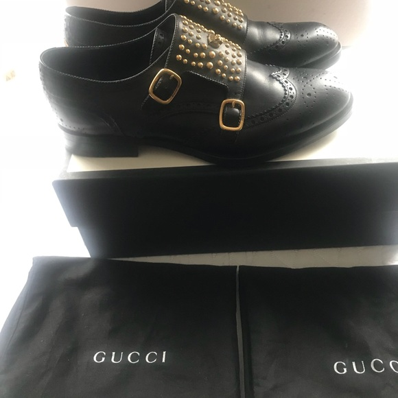 c42f058d3 Gucci Shoes | Men Queercore Studded Brogue Monk | Poshmark